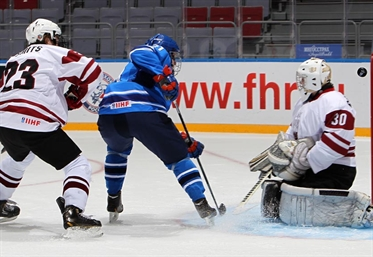 Tough loss for Latvians